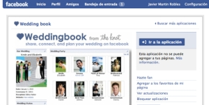 Aplicación 'weddingbook', ya popular en Facebook