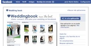 Aplicación 'weddingbook', ya popular en Facebook